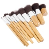Kabuki Makeup Brushes - 10 Piece