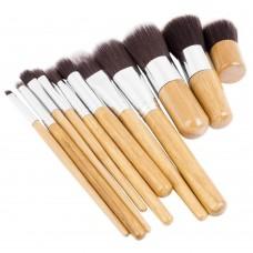 Kabuki Makeup Brushes - 10 Piece