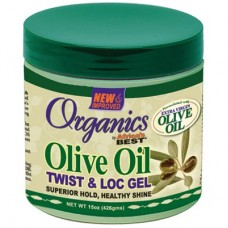 Africa's Best Organics Olive Oil Twist & Loc Gel