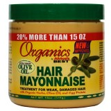 Africa's Best Organic Hair Mayonnaise 16oz ORGANICS OLIVE OIL DEEP COND IS SIMILAR