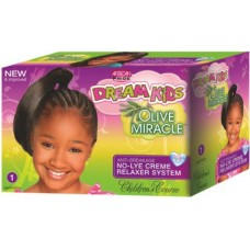 African Pride Dream Kids Olive Miracle No-Lye Creme Relaxer