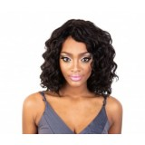 Synthetic Curly Extensions For Braid or Crotchet hook 14in - BLACK and DARK BROWN