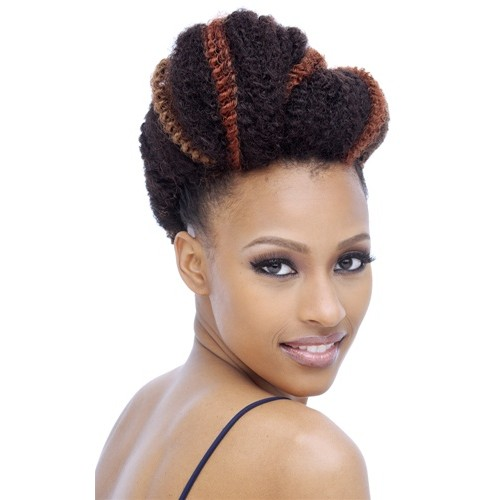 Afro Kinky Twist Braid Marley Synthetic Hair Extensions Blonde Only