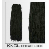 Synthetic PRE-DREAD Extensions for normal Dread Extension  or Crotchet Ps indicate Black or Blonde -64cm