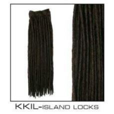 Synthetic Crotchet FAUX LOCS Extensions 24 inch - BLACK, DARK BROWN, COPPER.