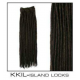FAUX LOCS Extensions 24 inch Synthetic Crotchet- BLACK, DARK BROWN, COPPER.