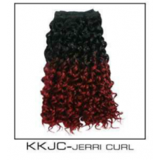 Synthetic Weave Kanekalon Diamond Curls BLACK/BURGUNDY ONLY