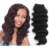 Synthetic Weave Loose Deep BROWN Only 14in Illusions Collection