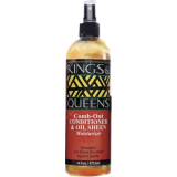 Kings & Queens Comb Out Conditioning Spray 473ml